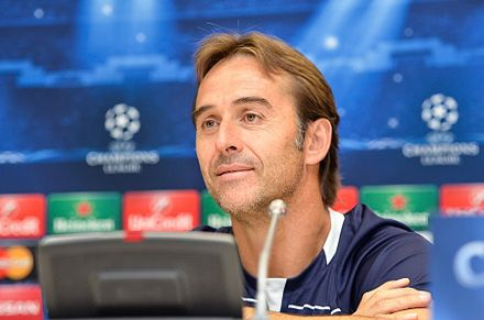Julen Lopetegui seleccionador nacional de futbol española