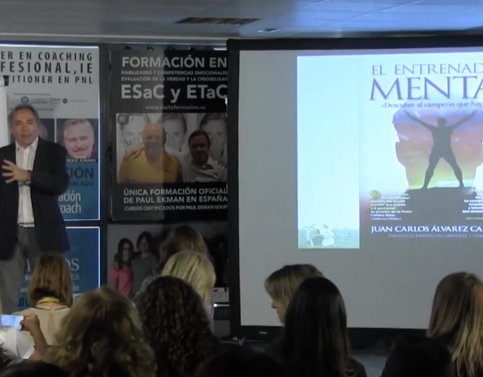 Presentación Libro Juan Carlos Campillo El Entrenador Mental
