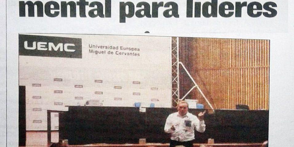 Afedecyl UEMC Entrenador Mental - Conferencia Jornadas Juan Carlos Álvarez Campillo