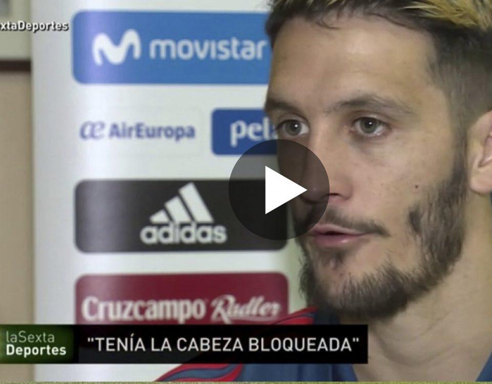 Entrevista en la Sexta a Luis Alberto hablando de Juan Carlos Campillo