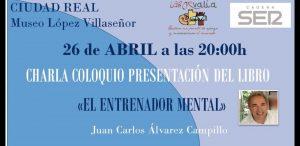 Charla-coloquio presentacion libro El Entrenador Mental