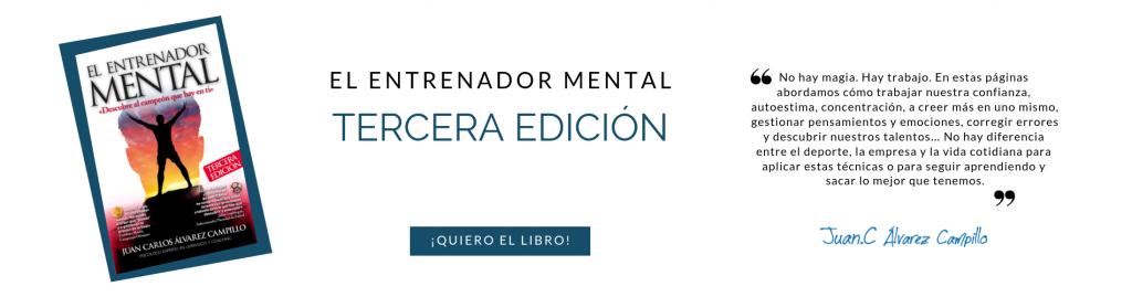 """Tercera edición del libro """"El entrenador mental"""""""