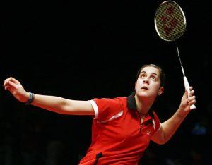 coaching psicología río 2016 - Campeona badminton Carolina Martin