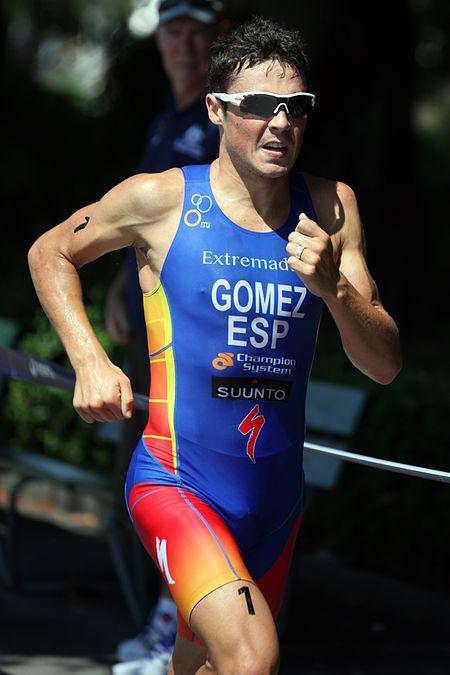 Francisco Javier Gomez Lausanne, triatleta profesional español - coaching y psicología