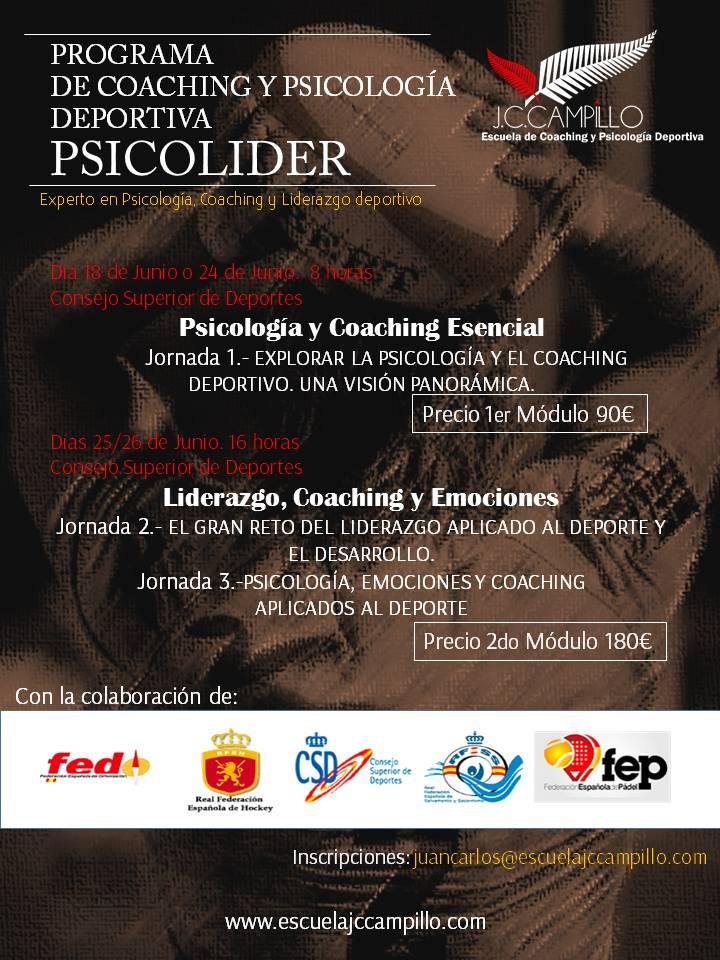 cartel psicolider 2 y 3