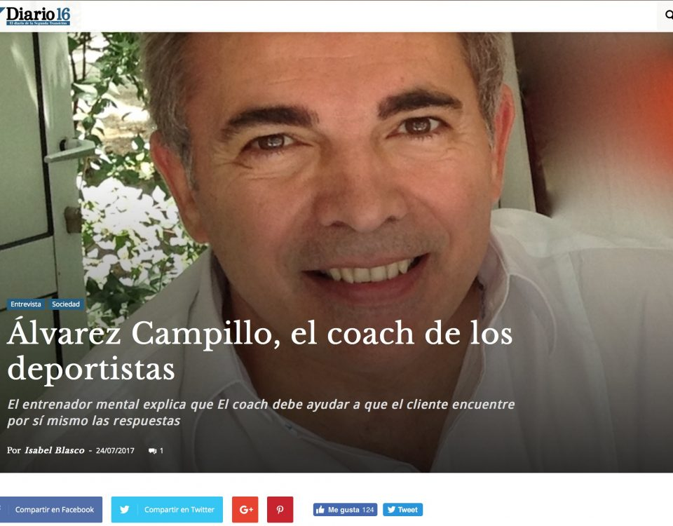 Juan Carlos Alvarez Campillo - Coaching ejecutivo Diario16