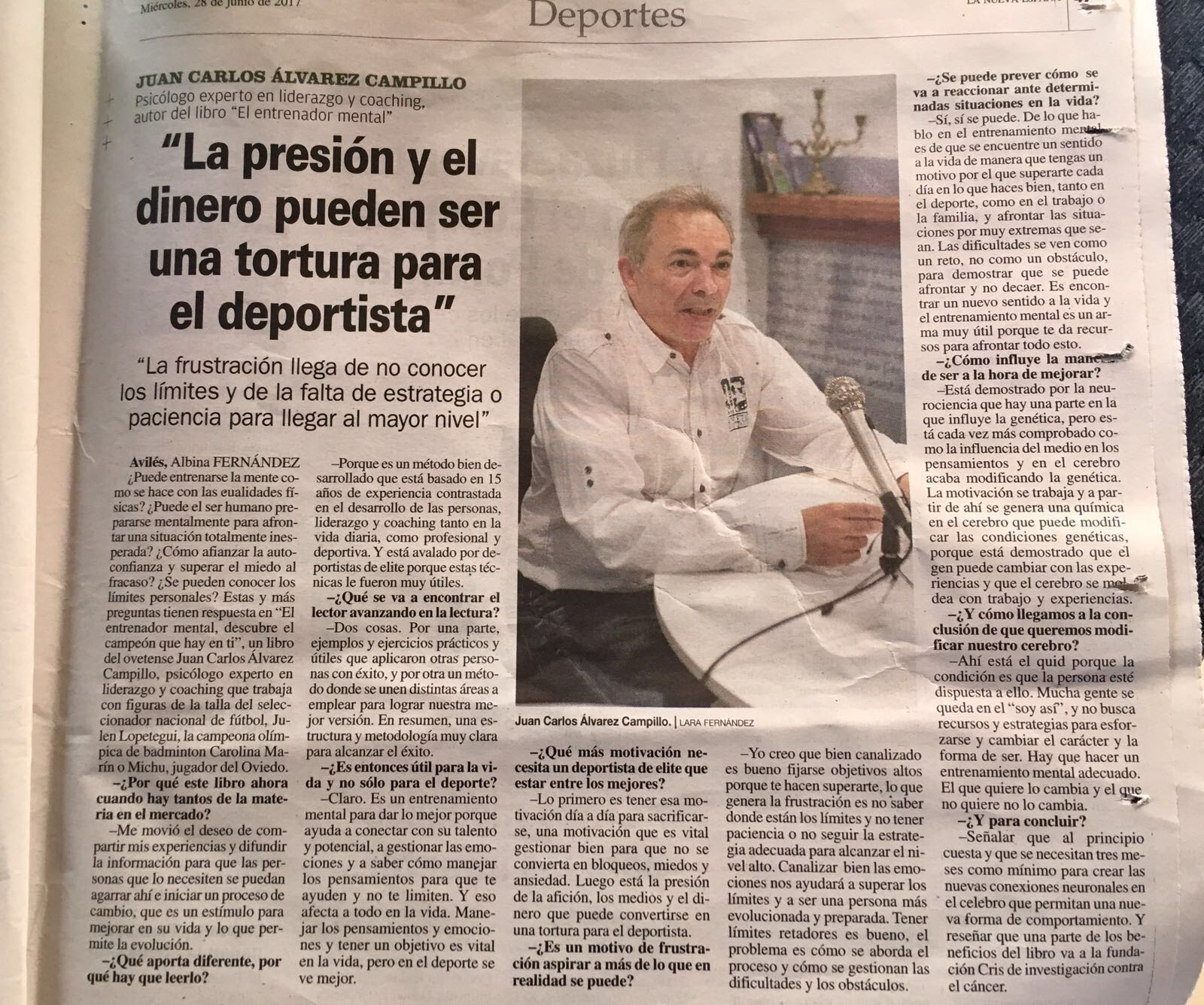 Entrevista Juan Carlos Campillo