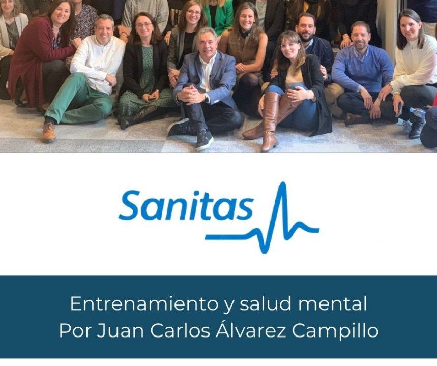Conferencia 'Claves: entrenamiento y salud mental', ponencia en Sanitas