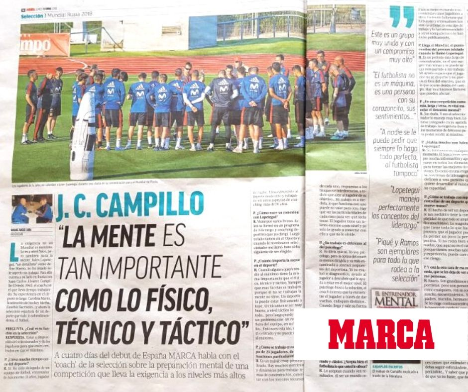 Coach seleccion española- Juan Carlos Campillo