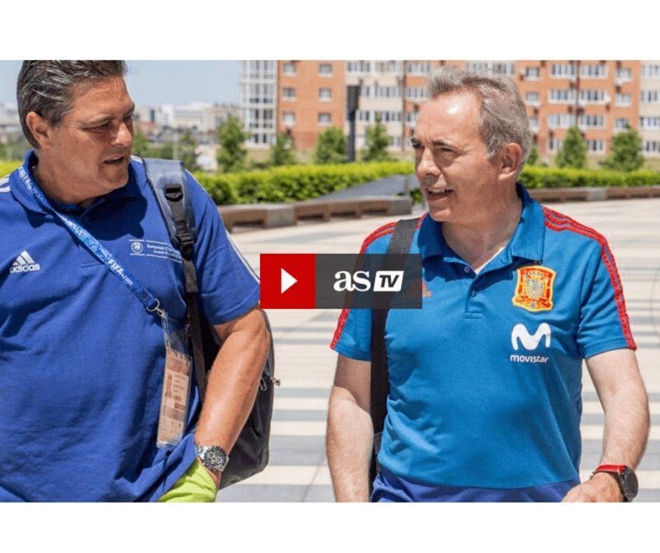 Juan Carlos Campillo en AS TV Coach deportivo Selección Española de Fútbol