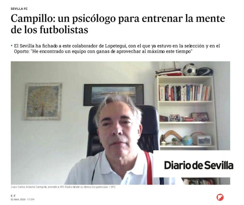 coach Sevilla FC- Juan Carlos Campillo
