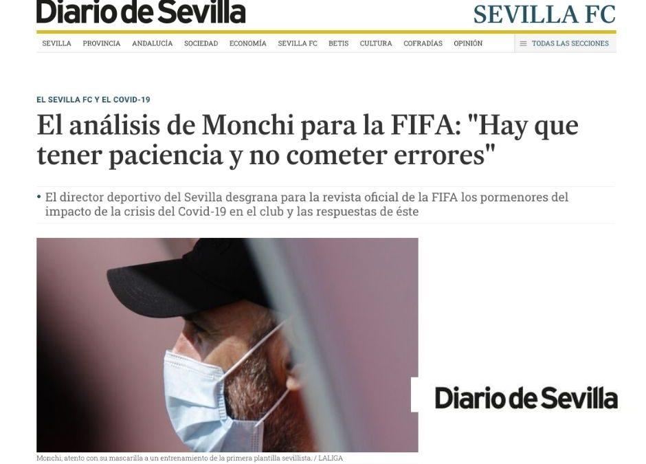 Monchi Sevilla FIFA- Psicologio Deportivo Juan Carlos Campillo