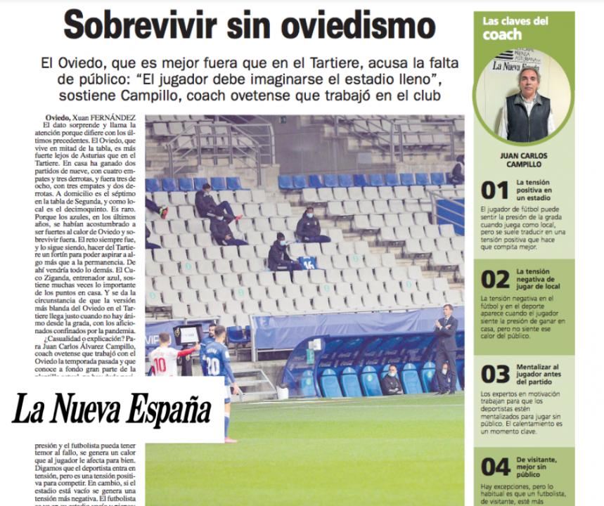 Artículo Coach Oviedo LNE