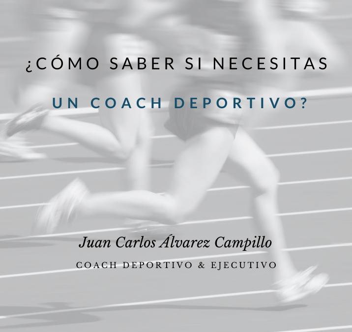 Cómo saber si necesitas un coach deportivo